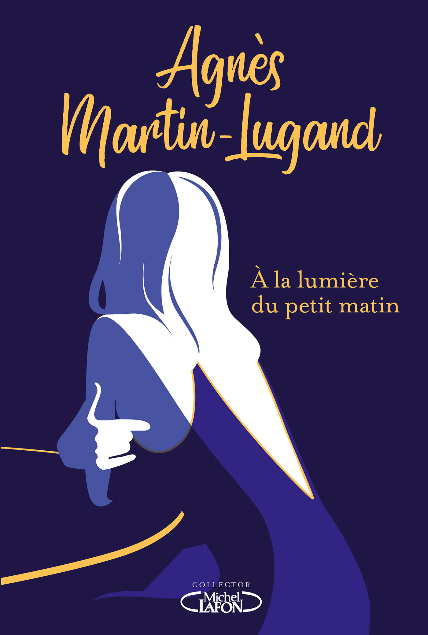 Agnès Martin Lugand - Couverture Collector - À la lumière du petit matin