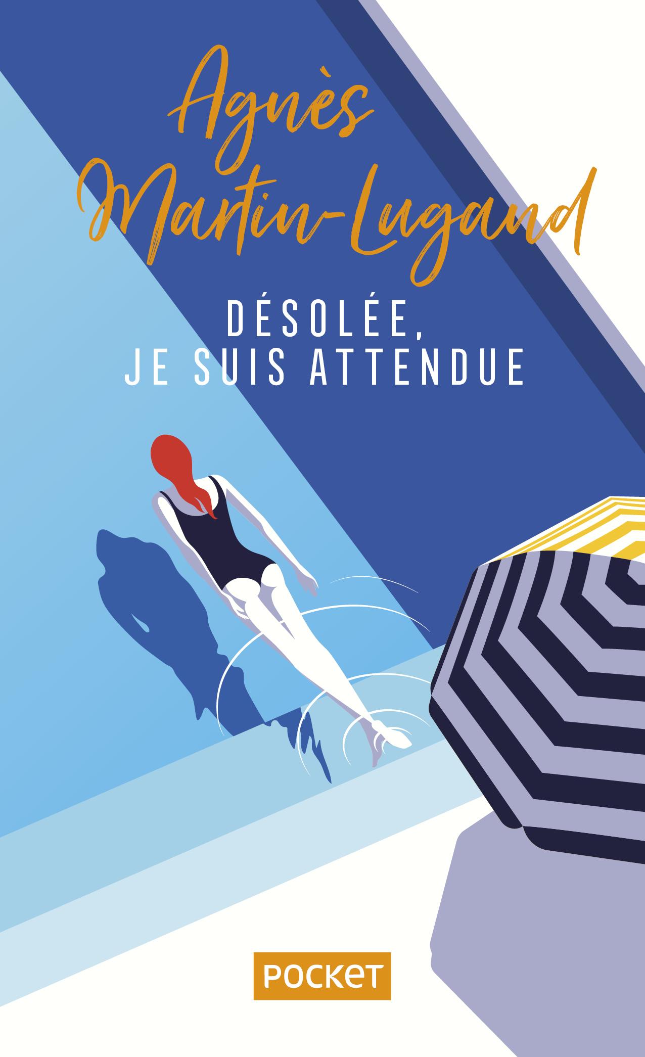Agnès Martin-Lugand - Couverture Collector Pocket - Désolée je suis attendue