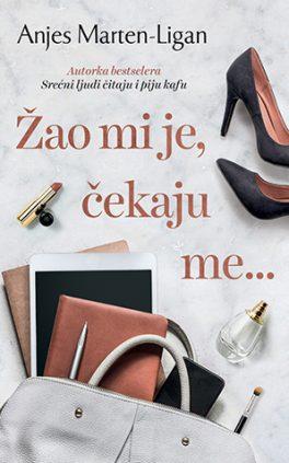 Agnès Martin-Lugand - Couverture roman - Désolée je suis attendue - Serbie